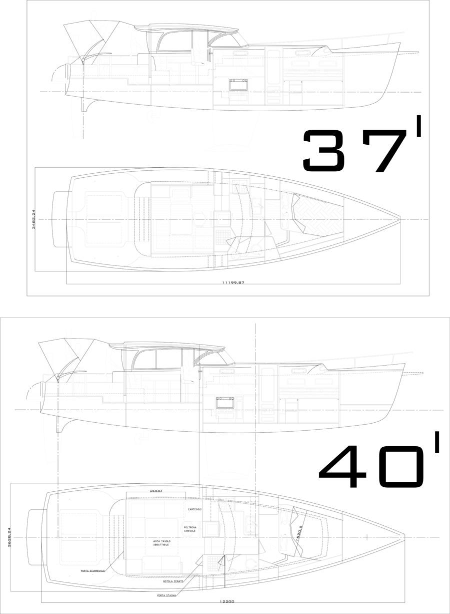 Motorsailer 37/40